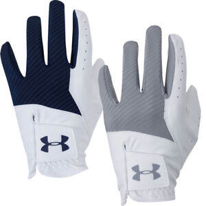 Under Armour Mens UA Medal Synthetic Textured Golf Glove Left Hand / NEW 2021