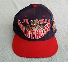 Vintage Florida Panthers Trucker Baseball Hat Cap NHL 1990's