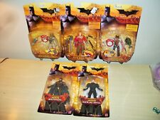 Mattel Batman Begins Ra's Al Ghul Scarecrow Batman Figures Lot
