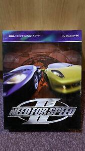 Need for Speed 2 PC-CDROM BG BOX ELECTRONIC ARTS RARE WINDOWS 95
