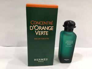 Hermes Concentre D'Orange Verte Eau De Toilette 7.5ml mini Splash For Unisex