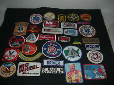 Company Advertising Vintage 1970-80's Patches Wholesale Lot of 32  Lot #3
