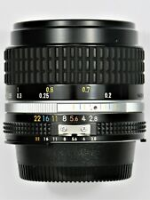 ***  MINT ** Nikon 28mm F2.8 Ai-s For F3 FM2 FE2 F2 D700 D600 FM3A D750
