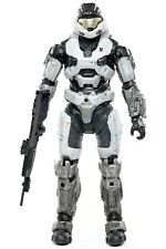 "Halo Reach Series 1 SPARTAN MARK V B WHITE 5.25"" Action Figure McFarlane 2010"