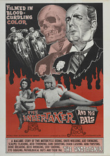 Undertaker and His Pals 11 x 17 Poster Horror Gore Grindhouse