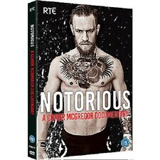 Conor McGregor Notorious DVD A Conor McGregor Documentary WITH FREE POSTER