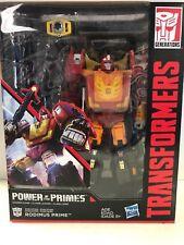 2017 TRANSFORMERS Power Of The Primes Rodimus Prime New NIB Leader Class Hasbro