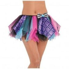 Mad Hatter Tutu Adult Size - Ladies Fancy Dress Sexy Accessory Alice Fairytale