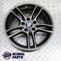 "BMW E81 E87 Grey Rear Alloy Wheel Rim 18"" ET:52 8,5J M Double Spoke 261 7842608"
