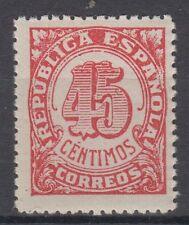 ESPAÑA (1938) - MNH - EDIFIL NE 30 (45 cts)