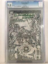 BLACKEST NIGHT #6 - IVAN REIS SKETCH VARIANT - CGC 9.8 -