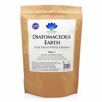 Diatomaceous Earth - Food Grade DE Powder - Detox & Trace Mineral Supplement