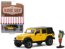 2015 Jeep Wrangler Unlimited Rubicon Hard Rock Yellow with Black Top and Backpac