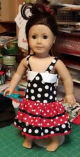 Doll Clothes Dress For 18 Inch American Girl Handmade Designer Clothing