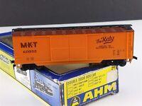 AHM 5298 D MKT The Katy 40' Double Door Box Car 60050 HO Scale