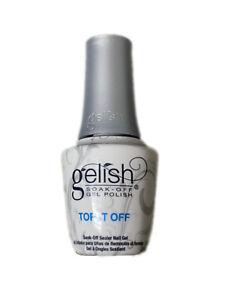 Gelish Soak Off Gel Polish 15mL - TOP IT OFF