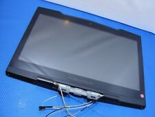 "Dell Alienware M15x 15.6"" Glossy FHD LCD Screen Complete Assembly *NICE SHAPE*"