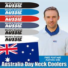 "Neck Cooler Christmas Gift beat the summer heat - ""World's Coolest Aussie"""