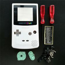 Austausch  Komplett Gehäuse Hülle Case für Nintendo Gameboy Color / GBC-- Weiß