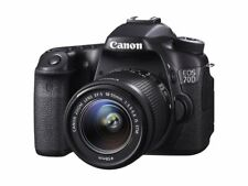Canon EOS 70D 20.2MP DSLR Camera w/18-55 mm IS STM Lens - Black (8469B031)