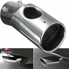 2Pcs Silver Exhaust Muffler Tail Pipe Tip Tailpipe for Honda CRV CR-V 2017-2018