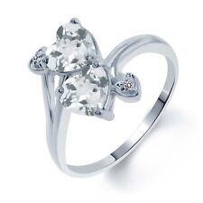 Aquamarine White Gold 14k Fine Rings