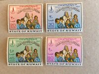 Kuwait stamps 1968 international human rights year for Palestine MNH