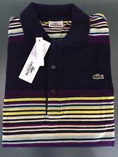 Gestreifte Lacoste Kurzarm Herren-Freizeithemden & -Shirts aus Baumwolle
