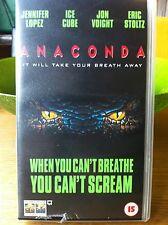 Anaconda (1997) - Cult horror on PAL VHS!