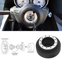 Steering Wheel Hub 6 Bolt Adapter Snap Off Boss Kit For BMW E46 320 Mini Cooper