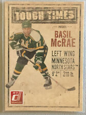 Basil McRae 2010-11 Donruss Insert Tough Times #5 - Minnesota North Stars