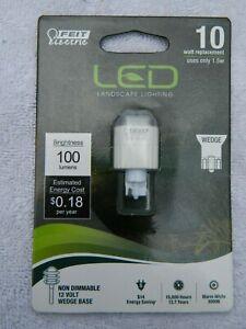 Feit Electric LED Landscape Lighting Bulb - 1.5W - Wedge Base - 100 Lumens - NIP