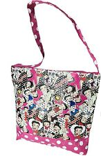 Betty Boop Sac Bandoulière 'coquelicot' (produit Officiel)
