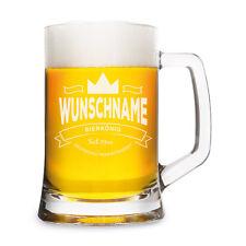 Leonardo Bierglas mit individueller Gravur - Bierkönig - Bierkrug 0,5 L