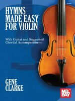 Hymns Made Easy for Violin - Book 30689