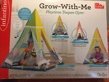 Grow With Me Playtime Teepee Gym 0M-3yrs