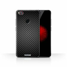 Stuff4 Phone Case/back Cover for ZTE Nubia Z11 Mini /carbon Fibre Effect/pattern Grey