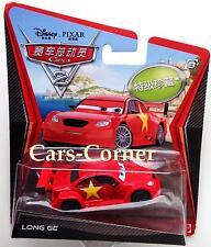 Disney Pixar Cars 2 Long ge-Chase car 2011-edición limitada-nuevo & OVP