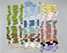 DMC Dolfus Mieg Embroidery Cotton Floss Thread Lot 66 Skeins Vintage France 40s