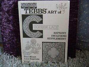 Tebbs' art of bobbin lace by Louisa Tebbs