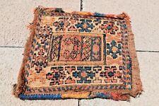 Impressive Antique Caucasian Collector's Superb finely Soumak Woven Kilim Bag