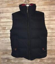 E.Land Club Full Zip Down Vest Mens Small