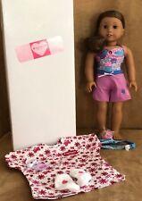 Kanani Doll NEW HEAD & LIMBS American Girl of the year 2011 Hawaii swimsuit