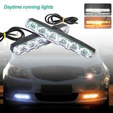 2 LED Tagfahrlicht Tagfahrleuchten DRL Auto Blinker Nebel Scheinwerfer Licht 12V
