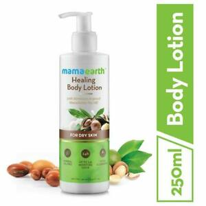 Mamaearth Healing Natural Body Lotion with Argan Oil Macadamia Nut Dry Skin250ml