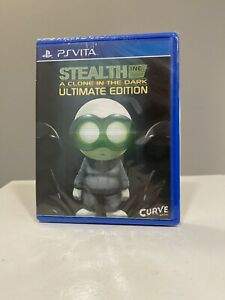 Stealth Inc. Ultimate Edition (PlayStation Vita) NEW! Limited Run #27 Sealed.