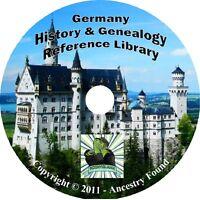 52 old books GERMANY History & Genealogy German Germans