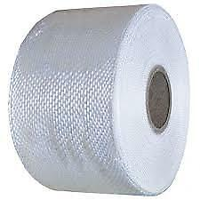 100mm x50mtr Fibreglass  Resin   Woven Tape 4/""