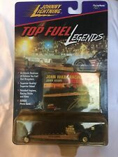 Johnny White Lightning Top Fuel Legends Red White Blue 1971 John Wiebe Racing