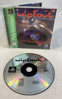 Wipeout (Sony Playstation 1, 1996) PS1 CIB Complete Greatest Hits Tested Rare